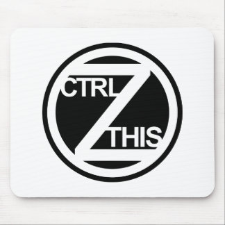 CTRL Z THIS mouse pad