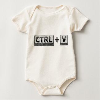 ctrlv baby bodysuit