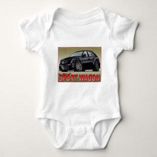 CTS_V_WAGON_black Baby Bodysuit