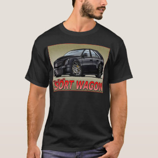 CTS_V_WAGON_black T-Shirt