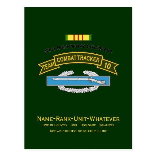CTT-10 - 4th Infantry Postcard
