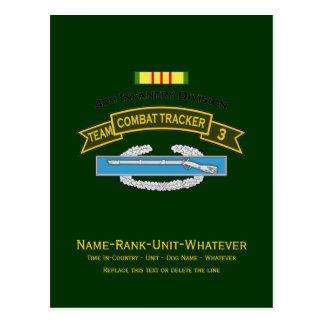CTT-3 - 4th Infantry Postcard