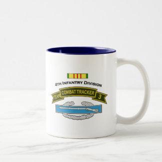 CTT-3 - 4th Infantry Two-Tone Coffee Mug