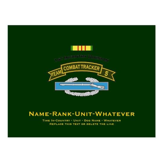 CTT-5 - 1st Infantry Postcard