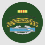 CTT-8 - 1st Cavalry Round Sticker