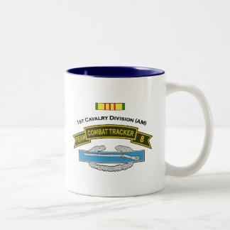 CTT-8 - 1st Cavalry Two-Tone Coffee Mug