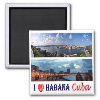 CU - Cuba - Habana I Love Magnet