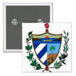 CU del escudo de armas de Cuba Pin