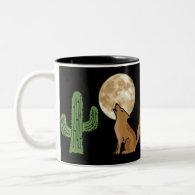 CU- Howling Coyote Mug