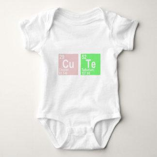 Cu Te (Copper Tellurium) Baby Bodysuit