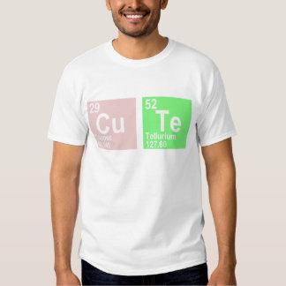 Cu Te (Copper Tellurium) T-shirt