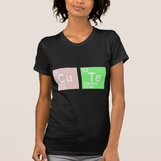 Cu Te (Copper Tellurium) Tee Shirt
