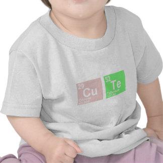 Cu Te (telurio de cobre) Camisetas