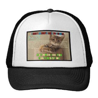 Cu tee Check Poem Trucker Hat