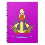 Cua el caucho Ducky Cuadernos