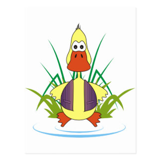 Cua The Rubber Ducky Post Cards