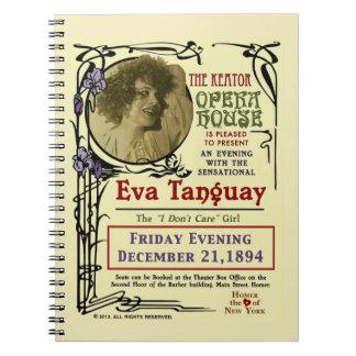 Cuaderno 1894 del poster de Nouveau del arte de Ev