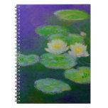 Cuaderno 1897 de los lirios de agua de Monet