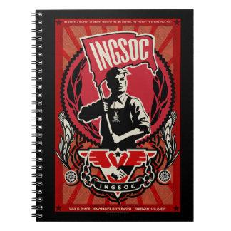 Cuaderno 1984 de INGSOC