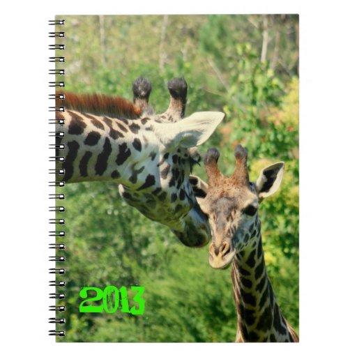 cuaderno 2013 de la jirafa