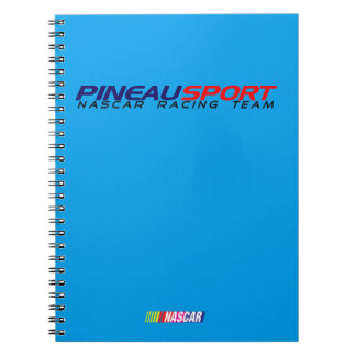 Cuaderno 80 páginas con líneas PINEAU DEPORTE NRT