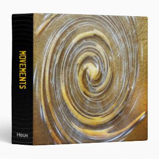 Cuaderno abstracto - carpeta misteriosa