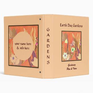 """Cuaderno adaptable de color naranja de los carpeta 1"""""""