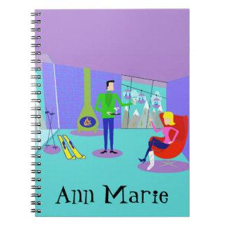 Cuaderno adaptable de las vacaciones del esquí