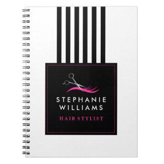 Cuaderno adaptable del estilista
