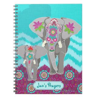 Cuaderno adaptable - festival del elefante
