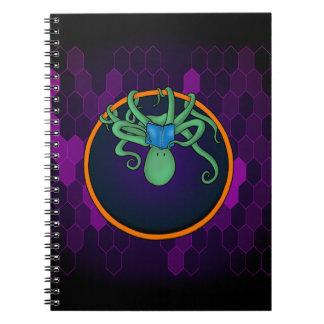 Cuaderno adorable del pulpo