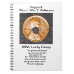 Cuaderno afortunado del penique WW2