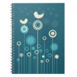 Cuaderno alegre de los pájaros