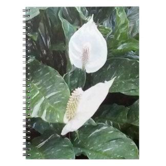 Cuaderno alpino de Sprial del Anthurium
