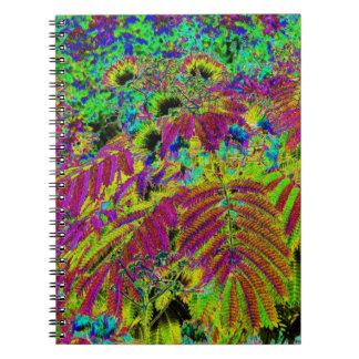 Cuaderno alterado del árbol 1 del Mimosa