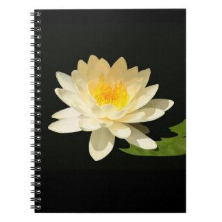 Cuaderno amarillo de Waterlily
