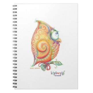 Cuaderno amarillo del búho