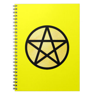 Cuaderno amarillo del pentáculo