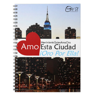Cuaderno Amo Esta Ciudad