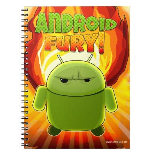 Cuaderno Android Fury