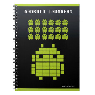 Cuaderno Android Invaders