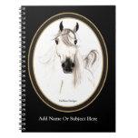 Cuaderno árabe de encargo del caballo