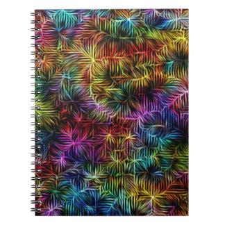 Cuaderno - armadura intrépida del arco iris -