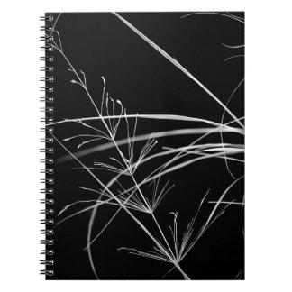 Cuaderno artístico de la foto de la naturaleza