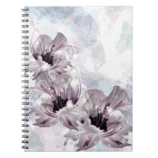 Cuaderno artístico de las flores