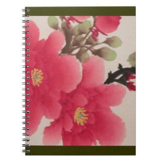 Cuaderno asiático de la amapola