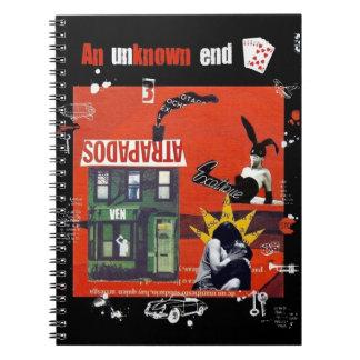 Cuaderno Atrapados. An unknown end.