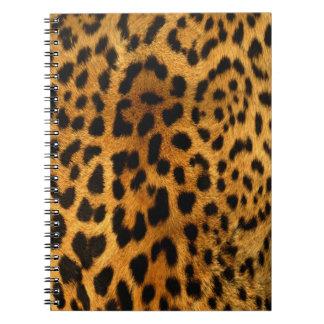 Cuaderno auténtico de la textura de la piel del le
