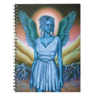 Cuaderno azul del ángel de guarda (80 páginas B&W)