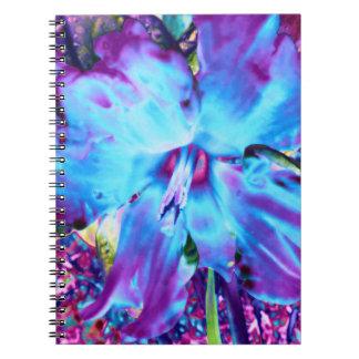Cuaderno azul del narciso